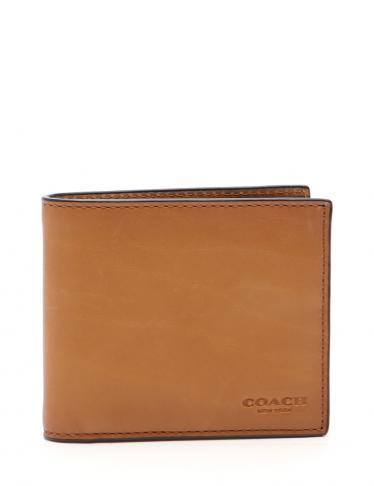 c81cfc1857db COACH(コーチ) 二つ折り札入れ レザー 茶 ヴィンテージ加工|中古ブランド通販のRECLO