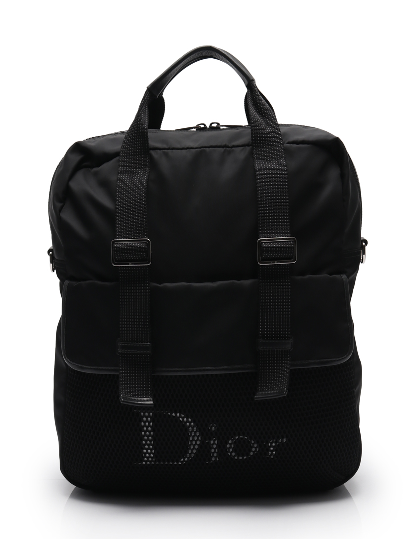 Dior HOMME・バッグ・ バックパック ナイロン 黒 3WAY