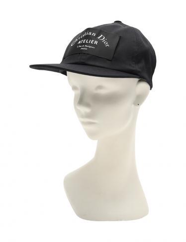 newest 4c448 c2dca Dior HOMME(ディオールオム)アトリエ キャップ 帽子 ウール 黒|中古ブランド通販のRECLO