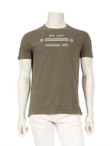 promo code 58cae e4cbf GUCCI(グッチ)Tシャツ カットソー カーキベージュ|中古ブランド通販のRECLO