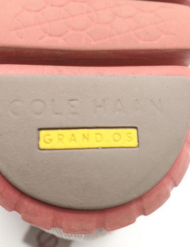 Cole Haan・シューズ・ZEROGRAND Wingtip Oxford ゼログランド カジュアルシューズ スエード グレー パンチング