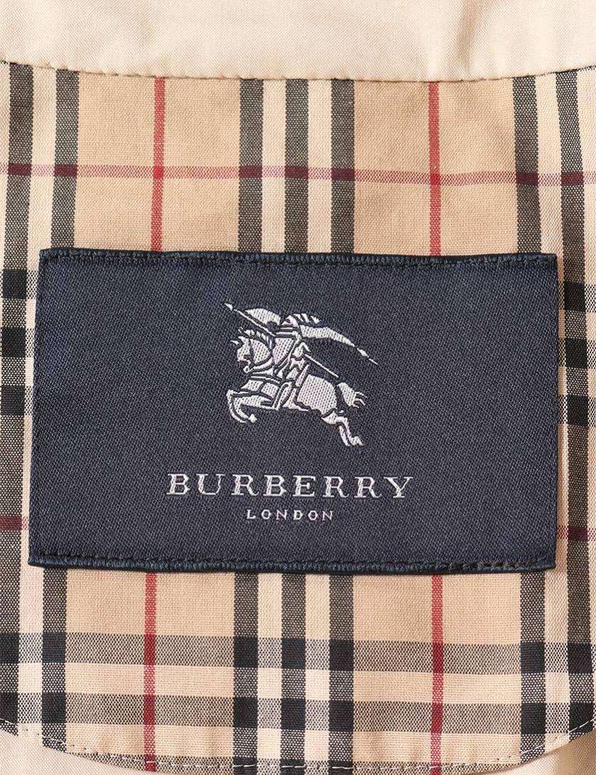 BURBERRY LONDON・アウター・ ステンカラーコート コットン ベージュ
