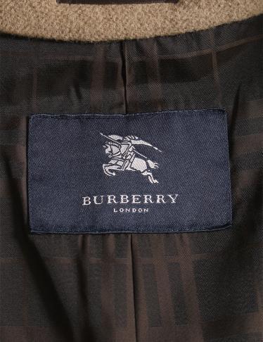 BURBERRY LONDON・アウター・ コート ウール アンゴラ ブラウンベージュ