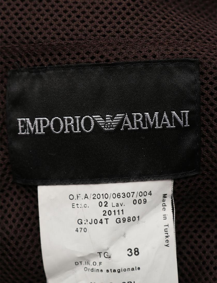 EMPORIO ARMANI・トップス・ ベスト カーキブラウン