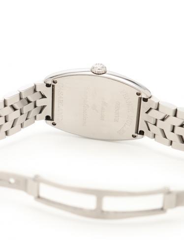 FRANCK MULLER・時計・トノウカーベックス カサブランカ 腕時計 ボーイズ 手巻き SS シルバー 白文字盤