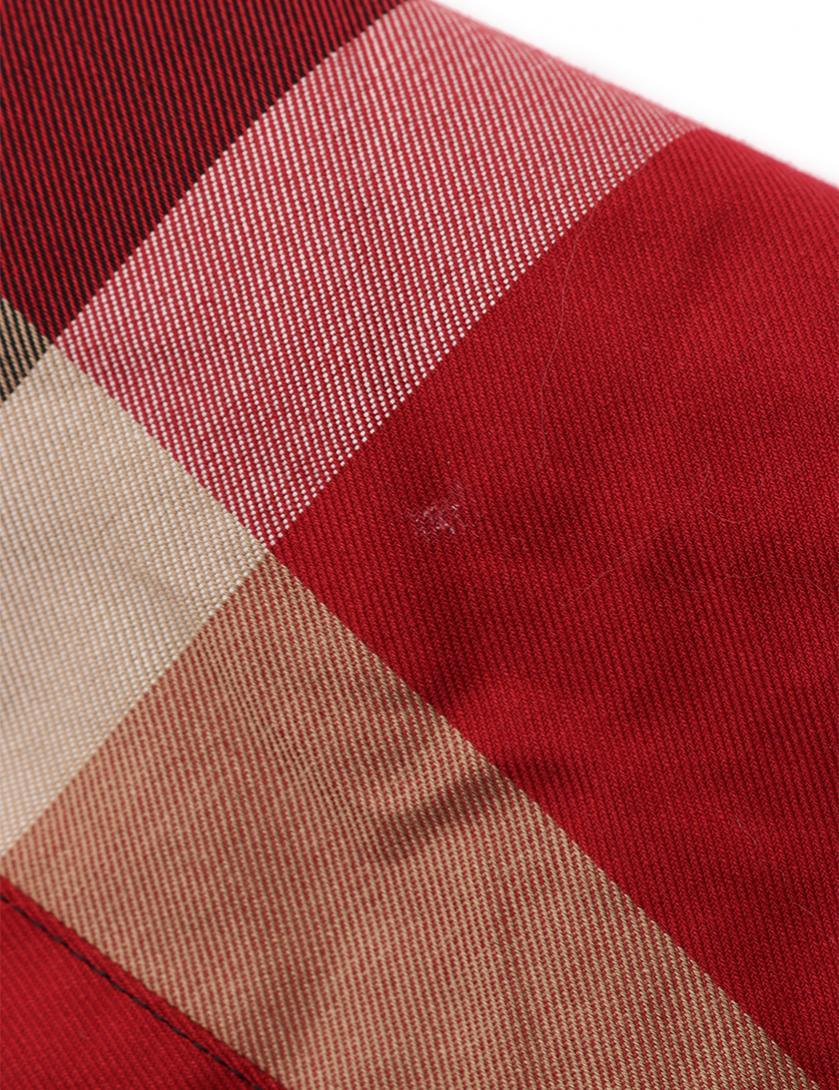 BLACK LABEL CRESTBRIDGE・アウター・ステンカラーコート チェック柄 赤 ベージュ マルチカラー