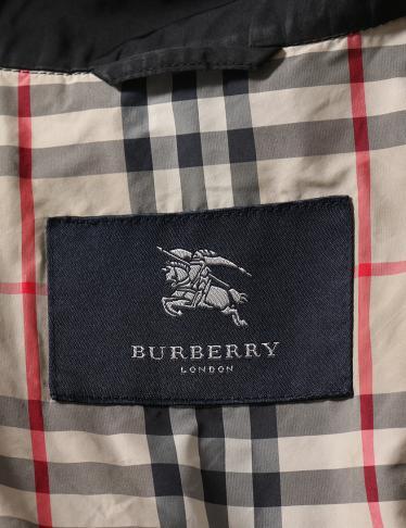 BURBERRY LONDON・アウター・スプリングコート 黒
