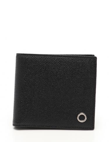 save off fa220 556c9 BVLGARI(ブルガリ)ブルガリブルガリ 二つ折り財布 レザー 黒|中古ブランド通販のRECLO