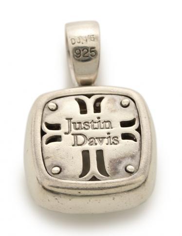 Justin Davis・アクセサリー・M.TS ペンダントトップ ネックレス SV925 カラーストーン ダイヤモンド シルバー