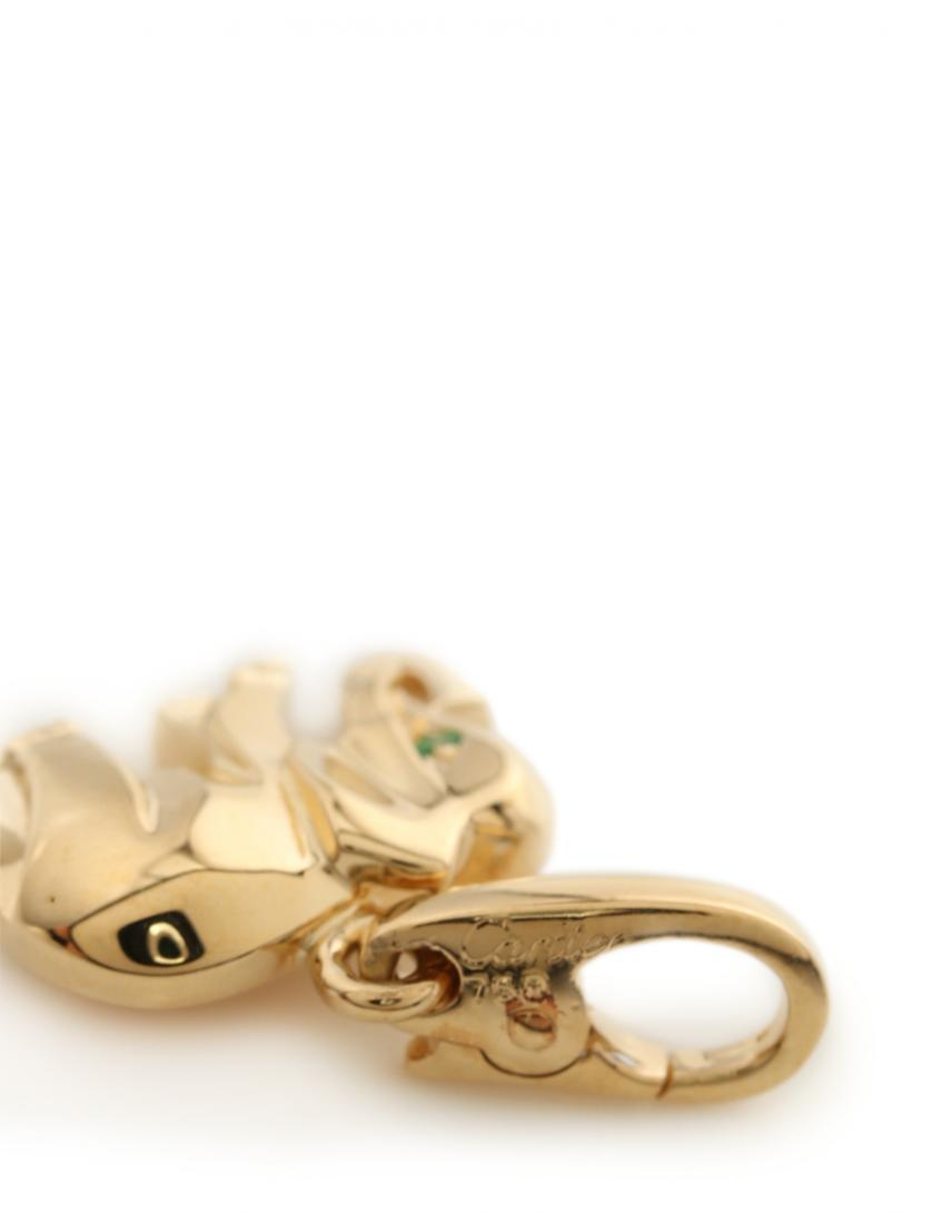 Cartier・アクセサリー・キャンディチャーム ペンダントトップ K18YG  イエローゴールド エレファント