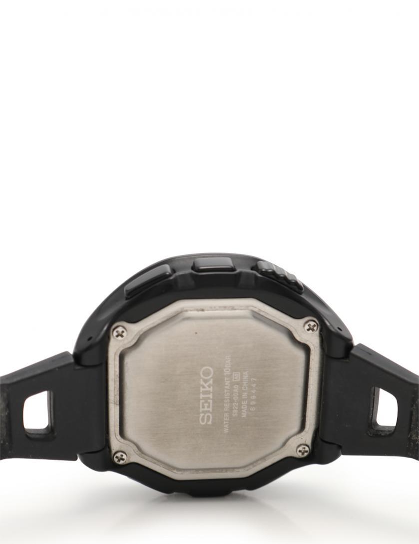 SEIKO・時計・プロスペック アルピニスト メンズ 腕時計 クオーツ ラバー 黒 ロゴバンド デジタル文字盤