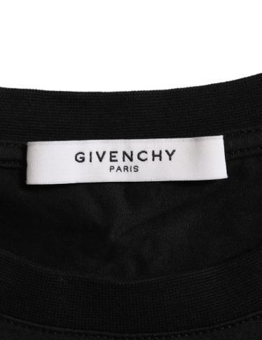 GIVENCHY・トップス・FAVELAS74 ナンバリング Tシャツ カットソー コットン 黒 白 14SS