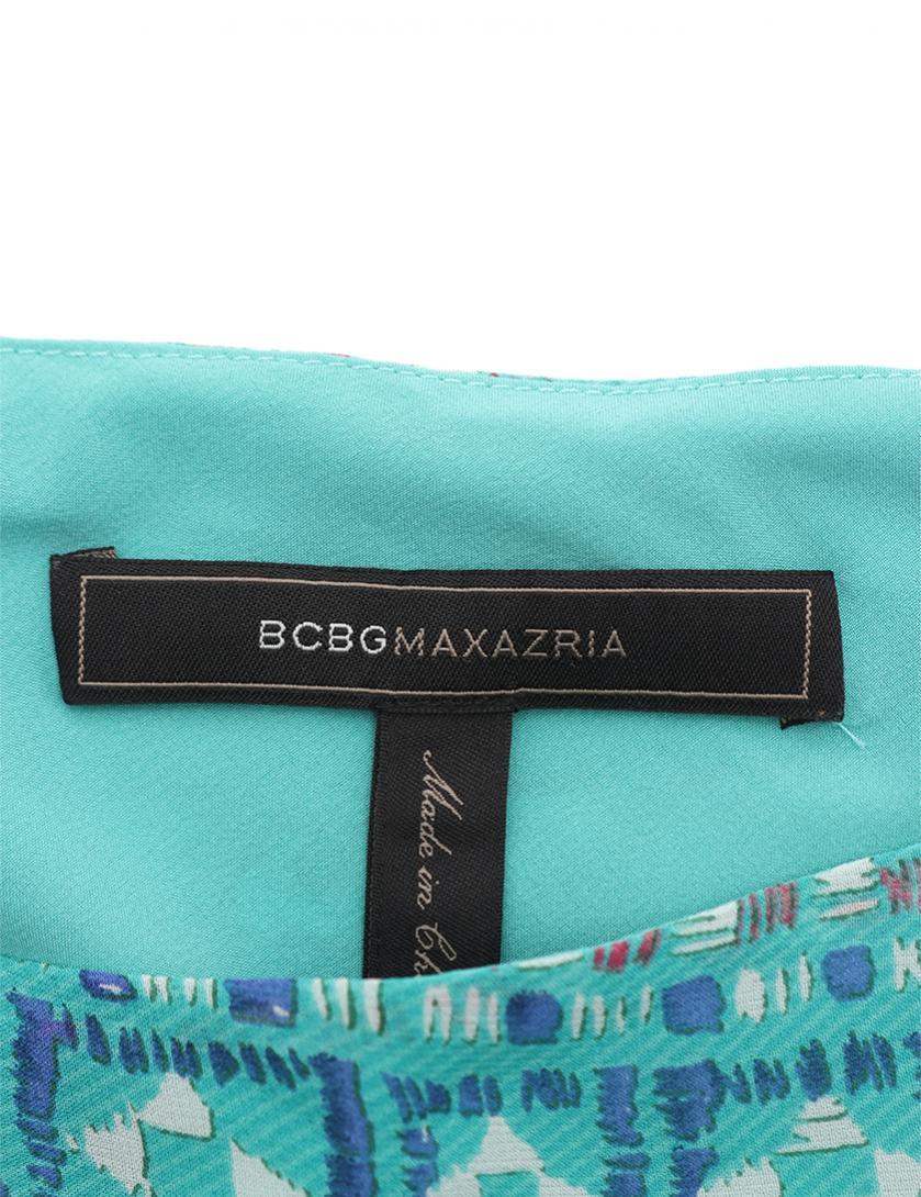 BCBG MAXAZRIA・ワンピース・Alana ワンショルダードレス ワンピース エメラルドグリーン 青