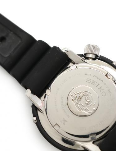SEIKO・時計・プロスペックス ダイバー スキューバ 腕時計 メンズ クオーツ SS ラバー 黒 赤 青 3000本限定