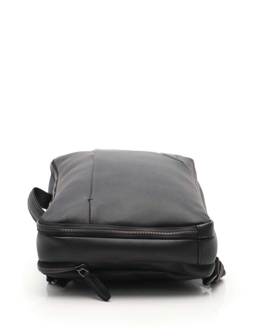 Calvin Klein・バッグ・ バックパック フェイクレザー 黒 マルチウェイ