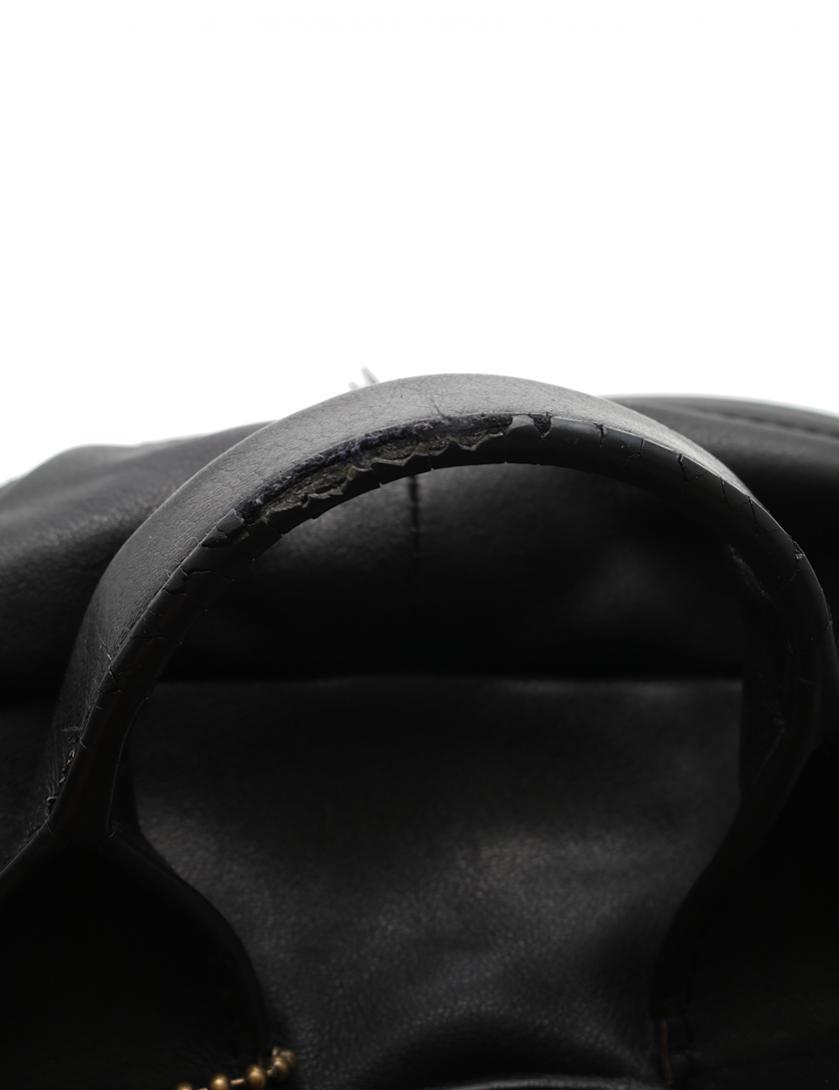 COACH・バッグ・ブリーカー トラベラー バックパック リュック レザー 黒