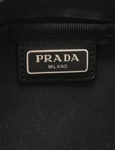 PRADA・財布・小物・VELA 化粧ポーチ ナイロン レザー 黒