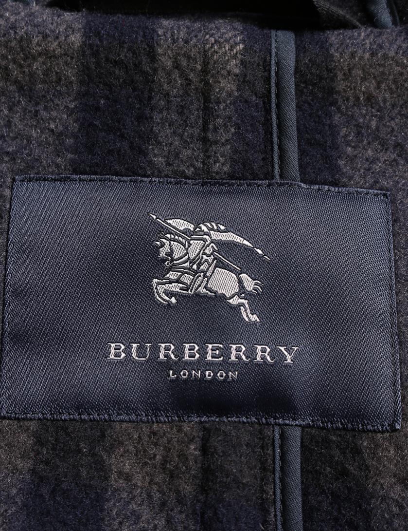 BURBERRY LONDON・アウター・ ダッフルコート ウール ネイビー