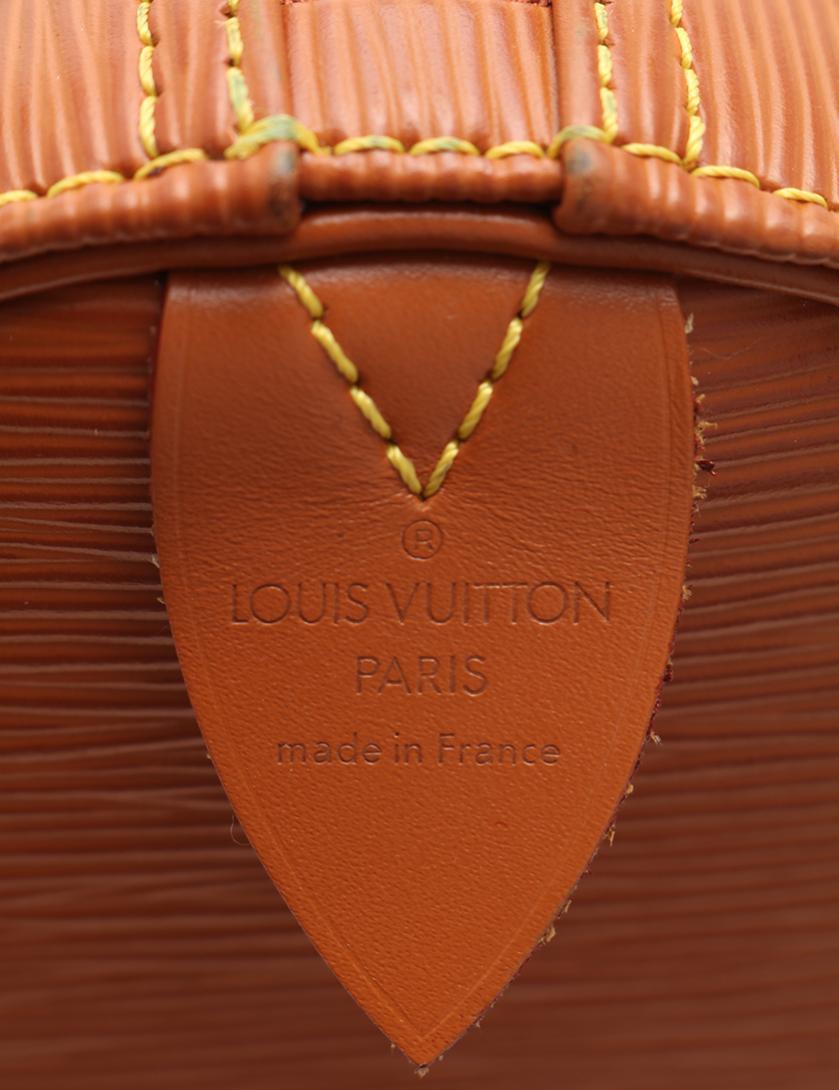 LOUIS VUITTON・バッグ・キーポル55 エピ ボストンバッグ レザー ジパングゴールド