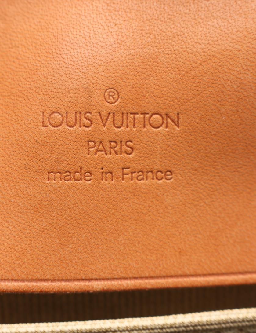 LOUIS VUITTON・バッグ・シリウス45 モノグラム トラベルバッグ ボストンバッグ PVC レザー 茶