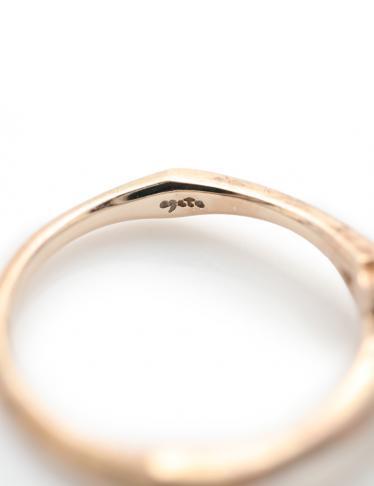 agete・アクセサリー・ 指輪 K10PG ダイヤモンド ピンクゴールド