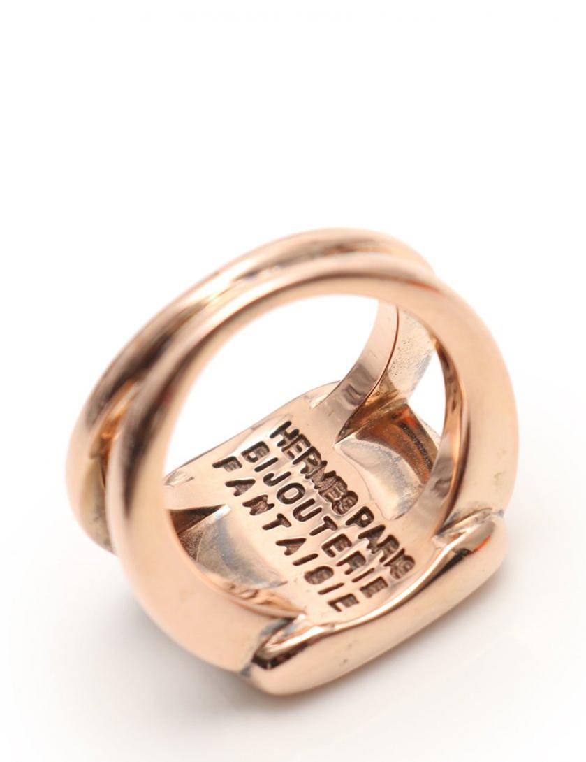 HERMES・アクセサリー・セリエ リング 指輪 シェル ピンクゴールド
