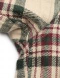 Vivienne Westwood MAN・トップス・フランネル ジップ シャツ チェック柄 ベージュ 黒 ボルドー 19AW