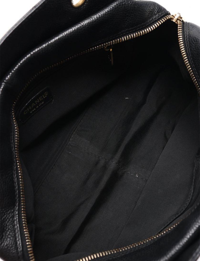 CHANEL・バッグ・マトラッセ ココマーク チェーンショルダーバッグ キャビアスキン 黒 ゴールド金具