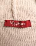 Max Mara Studio・アウター・ニット ケープ ウール カシミヤ ベージュ フォックスファー