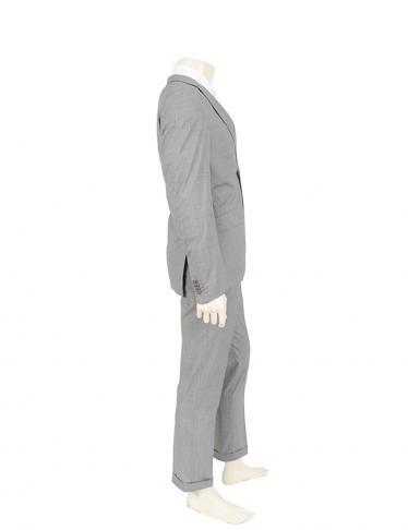 Ermenegildo Zegna・スーツ・ スーツ ウール ネイビー 白