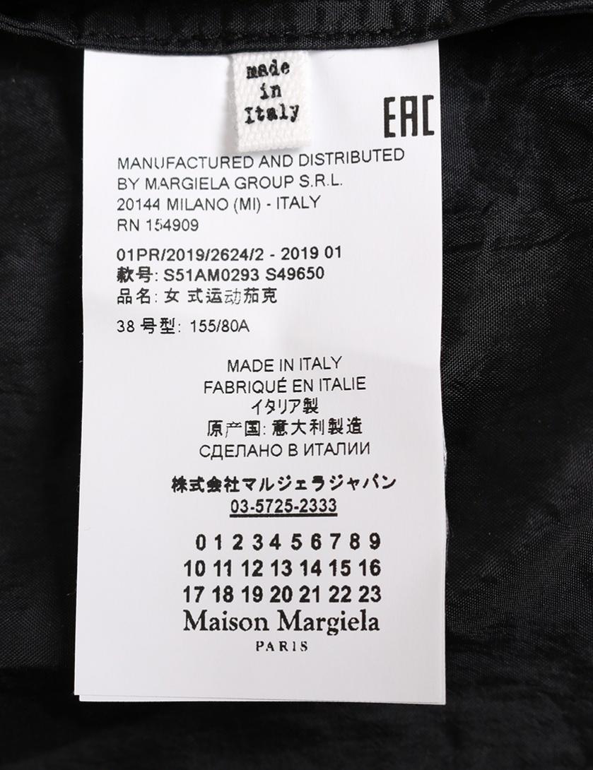 Maison Margiela 1・アウター・ブルゾン ナイロン シルク 黒 2019SS