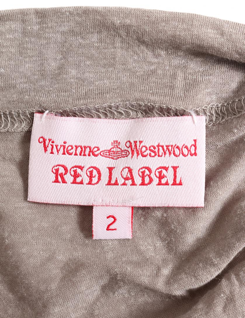 Vivienne Westwood Red Label・ワンピース・ ワンピース グレー 変形デザイン