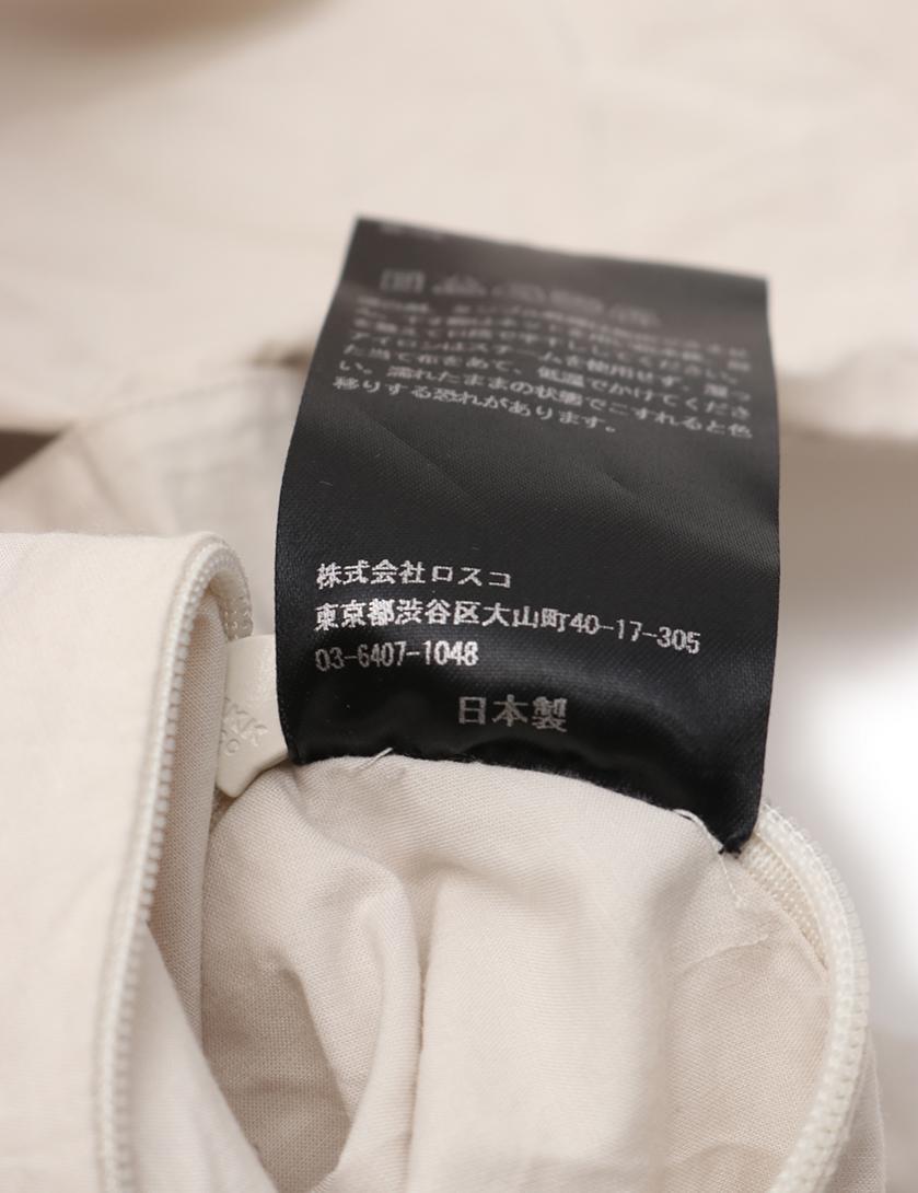 TEATORA・アウター・スーベニア ハンター コート オフホワイト フード付き