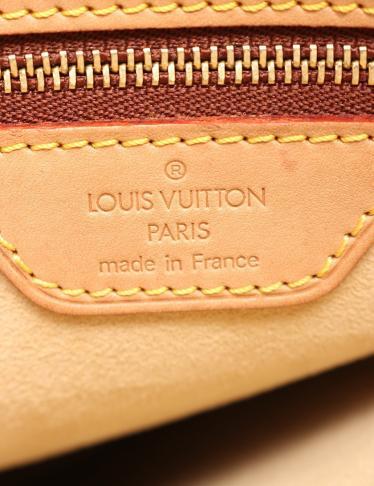 LOUIS VUITTON・バッグ・ルーピングGM モノグラム ショルダーバッグ PVC レザー 茶