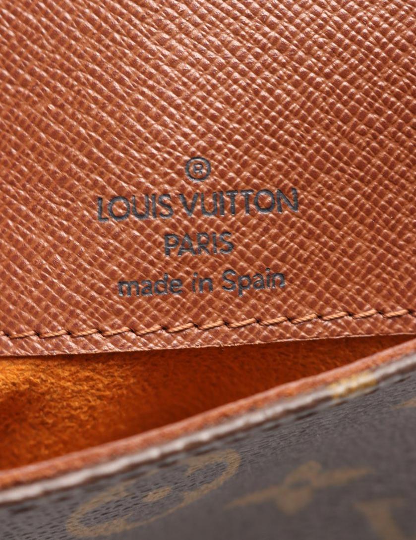 LOUIS VUITTON・バッグ・ポシェット ミュゼットサルサ ロングストラップ モノグラム ショルダーバッグ PVC レザー 茶