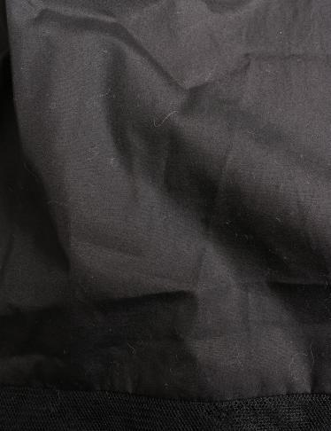 N°21・ワンピース・ ワンピース ノースリーブ 黒 裾レース切替 スパンコール