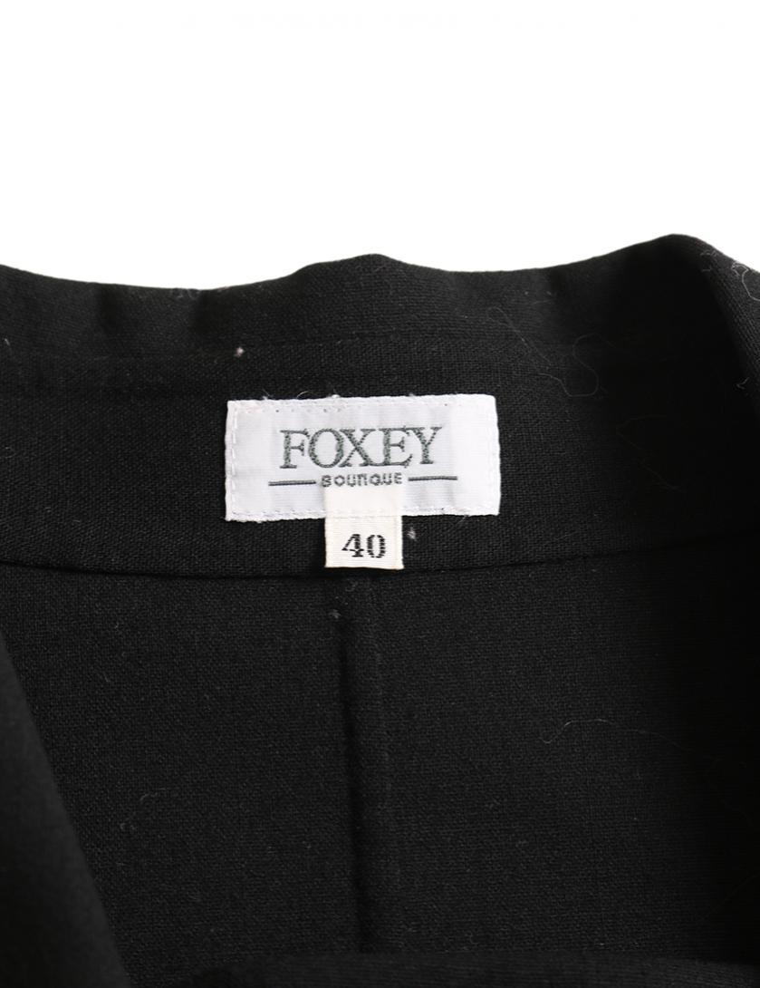 FOXEY・アウター・ ジャケット ウール 黒