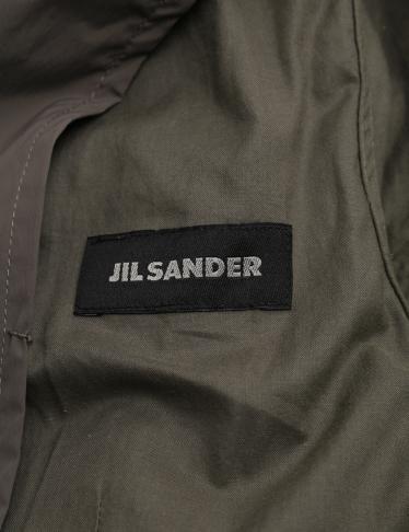 JIL SANDER・アウター・ジャケット ナイロン グレーブラウン