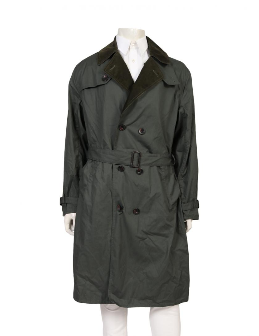 Barbour・アウター・WHITLEY TRENCH COAT トレンチコート カーキグリーン