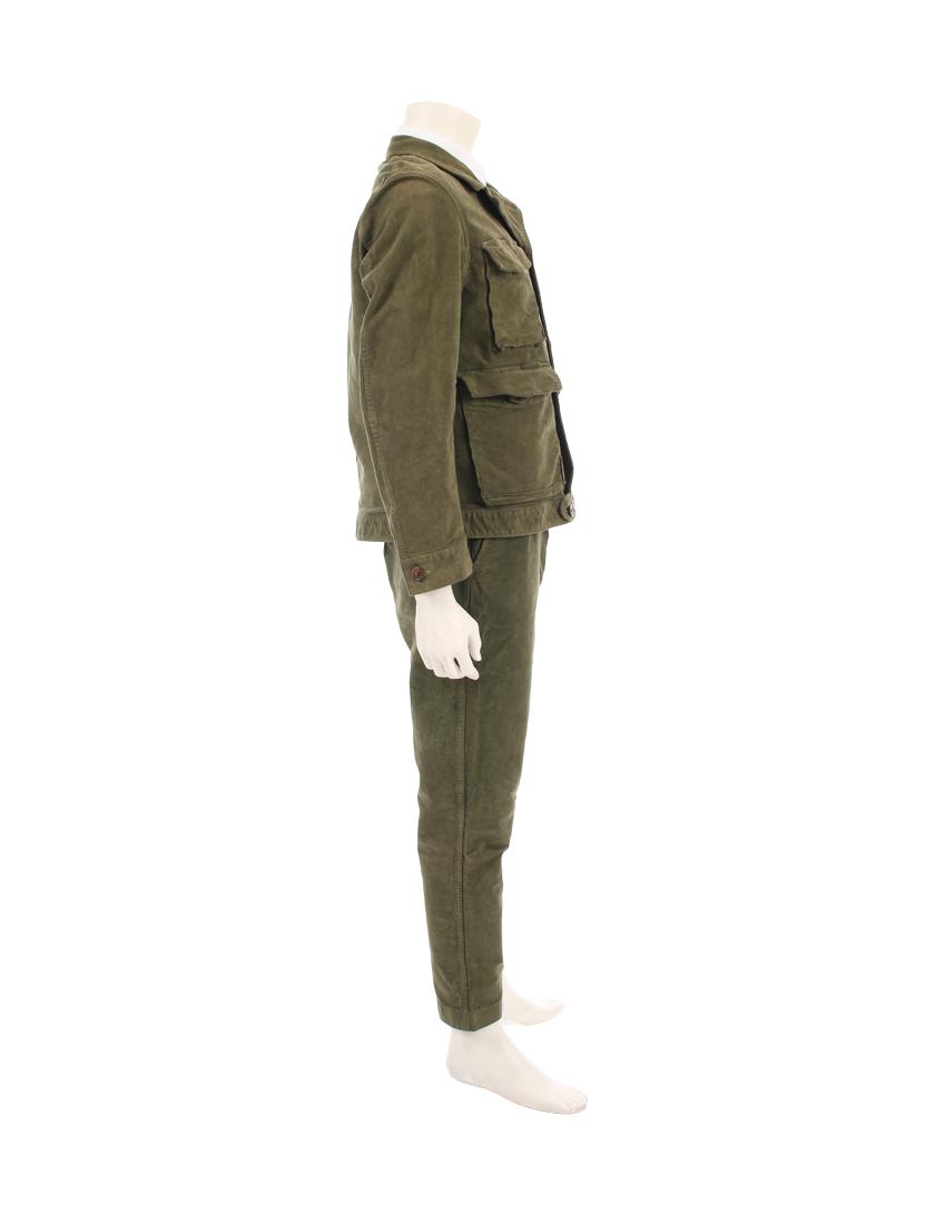 Porter Classic・スーツ・ セットアップ パンツスーツ コットン カーキ