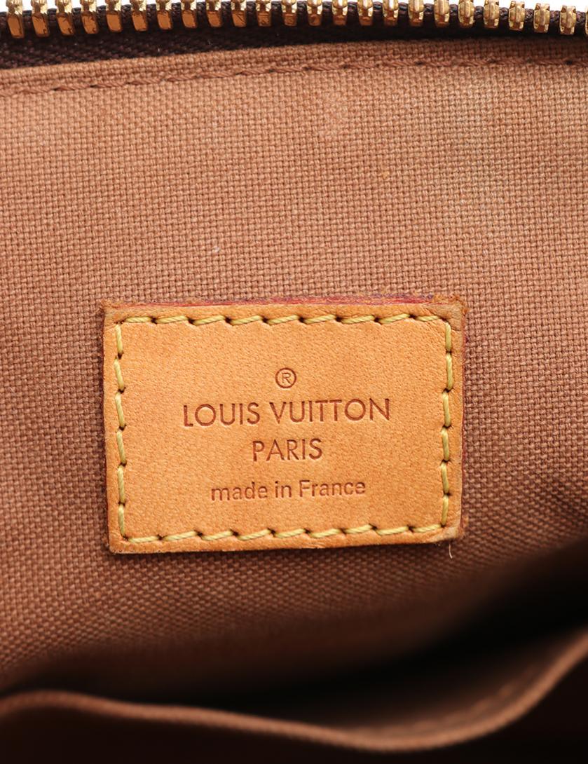 LOUIS VUITTON・バッグ・ティヴォリGM モノグラム ハンドバッグ PVC レザー 茶