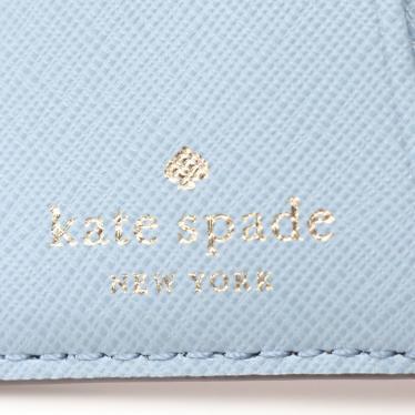 kate spade・財布・小物・SMALL BIFOLD WALLET 二つ折り財布 レザー ピンク 水色 赤