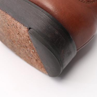 Cole Haan・シューズ・ カジュアルシューズ レザー 茶色 ウィングチップ