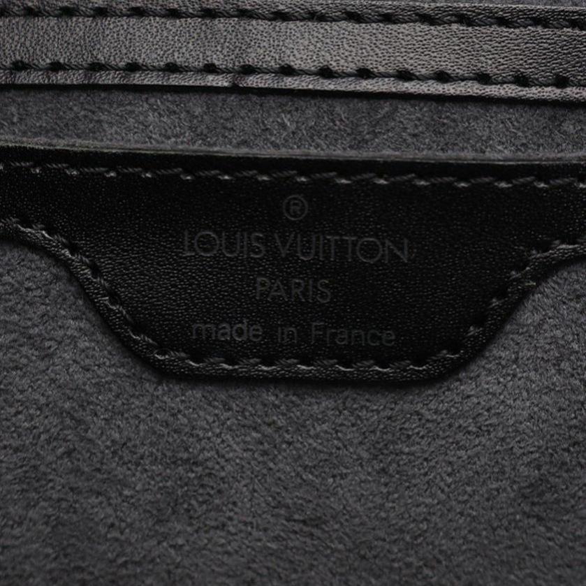 LOUIS VUITTON・バッグ・サンジャック ショッピング エピ ショルダーバッグ レザー ノワール