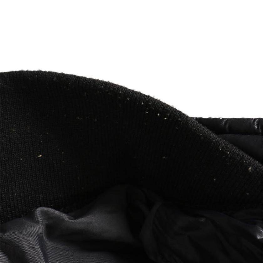 DIESEL・アウター・ ブルゾン ナイロン ネイビー 中綿