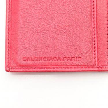 BALENCIAGA・財布・小物・ジャイアントコンチネンタル 二つ折り長財布 レザー ピンク