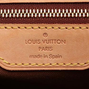 LOUIS VUITTON・バッグ・バティニョール オリゾンタル モノグラム ショルダーバッグ PVC レザー 茶