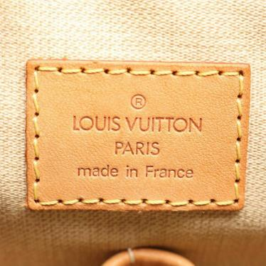 LOUIS VUITTON・バッグ・トゥルーヴィル モノグラム ハンドバッグ PVC レザー 茶