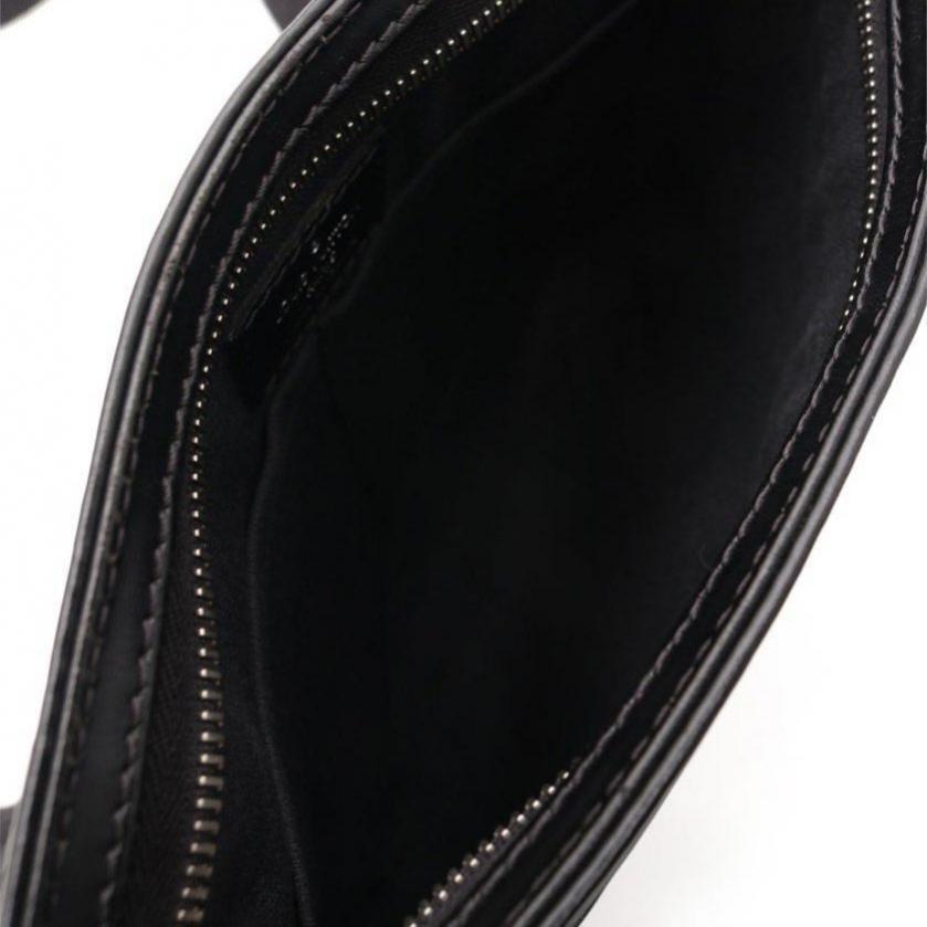 LOUIS VUITTON・バッグ・トマス ダミエグラフィット ショルダーバッグ PVC レザー 黒