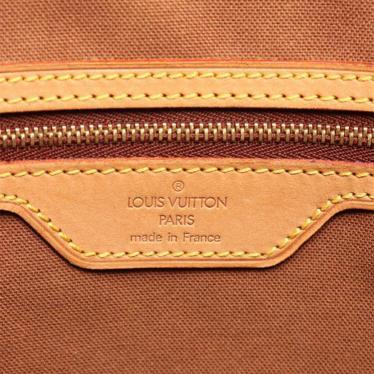LOUIS VUITTON・バッグ・カバメゾ モノグラム トートバッグ PVC レザー 茶